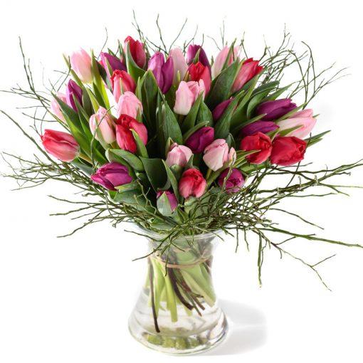 Tulpen felicitatie