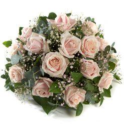 Zacht roze Biedermeier