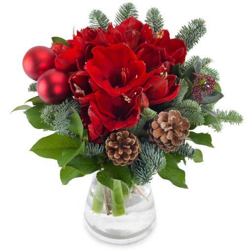 Romantische kerst groot