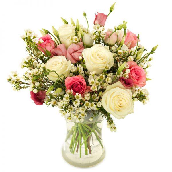rozen veldboeket groot