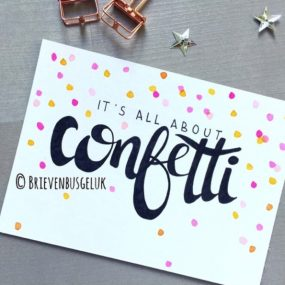 It's all about CONFETTI